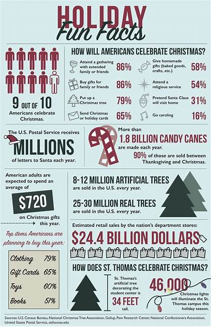 Facts Fun Holiday Tommiemedia Infographic Related