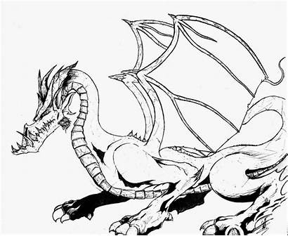 Coloring Pages Dragon Dragons Printable Filminspector