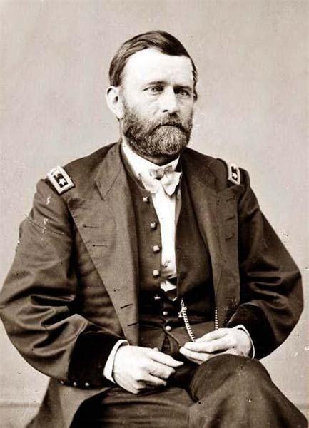 ulysses  grant civil war soldier   president
