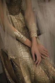 Gold Lace Cuff