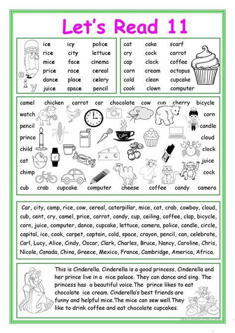 let s read 11 worksheet free esl printable worksheets