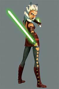 Jedi Cover-Up: Clone Wars' Ahsoka Gets Less-Revealing ...