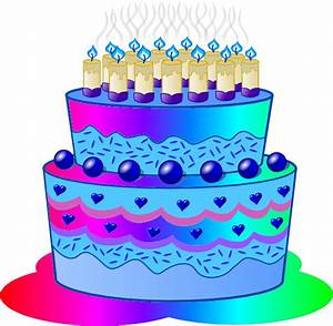 Free Birthday Cake Clipart Pictures - Clipartix