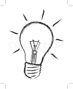 How To Draw A Light Bulb by Simple Light Bulb Drawing Ls Ideas