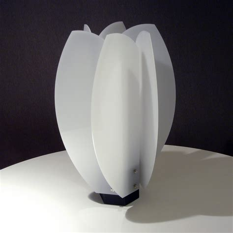 laleh lamp  john nalevanko acrylic lamp artful home
