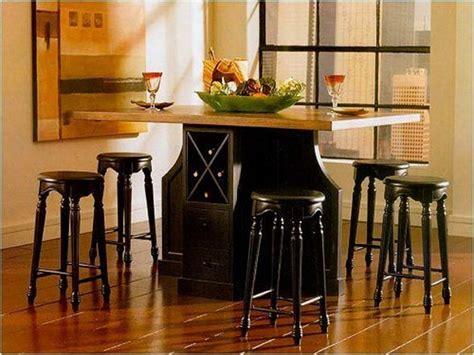 bar height kitchen table with storage bloombety counter height kitchen tables with storage