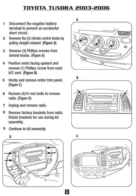Toyota Tundrainstallation Instructions