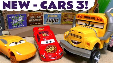 Demolition Derby Cars Toys by Cars 3 Toys Disney Pixar Lightning Mcqueen Ramirez