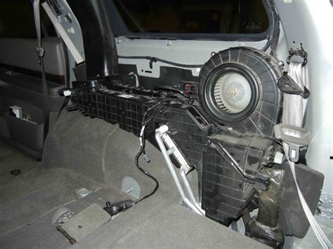 durango rear heater blows cold  front heater works