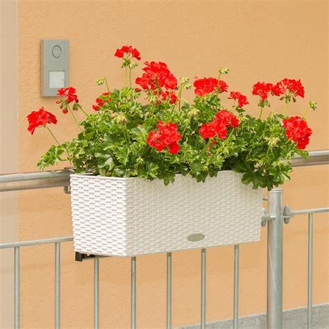 Blumenkasten Mit Halterung Für Balkon by Balkonkastenhalterung Balkonkasten Halterung Halte Vario Fix