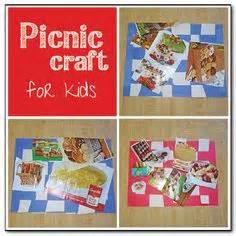 picnic crafts images picnic theme picnic crafts
