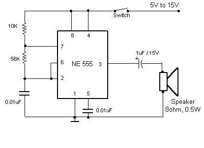 Schematic Diagram Of Buzzer Circuit