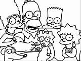 Simpsons Wecoloringpage sketch template