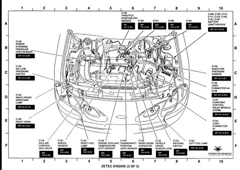 Engine Wiring Harnes For 2005 Ford Focu by I A 2001 Ford Focus 2 0 Zts And Need To Where To