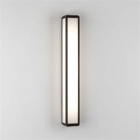 astro lighting 7906 mashiko 600 ip44 led bathroom wall
