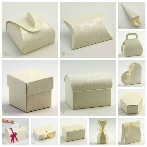 luxury diy wedding party favour gift boxes diamante