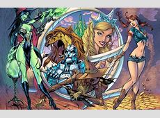 Wallpaper girl, tale, witch, sorceress, Dorothy, The