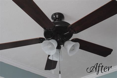 Ceiling Fan Wobbles After Being Hit by Ceiling Fan Makeover Pennywise Cook