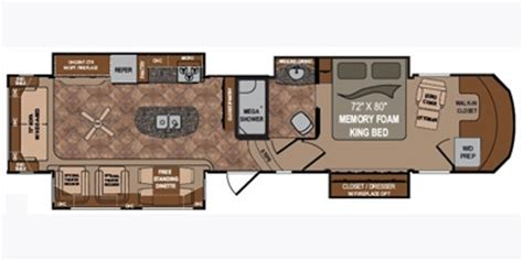 Infinity Deck Plan 2013 by 2013 Dutchmen Infinity 3860ms Trailer Reviews Prices