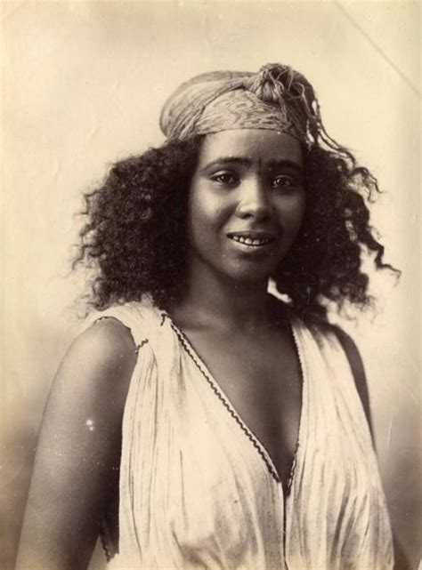 Algerian Girl, 1870's  Beautifully Striking Pinterest