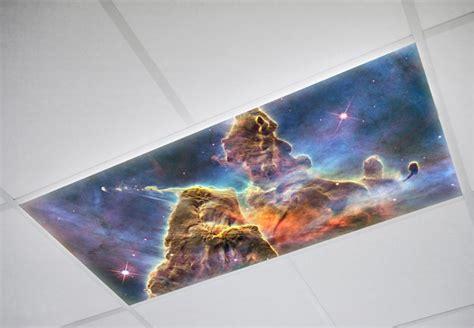 Astronomy Fluorescent Light Panels