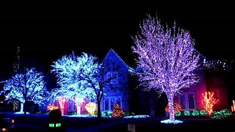 Christmas Lights Edmond Ok 2010 Youtube