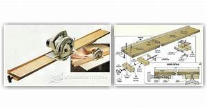 DIY Circular Saw Guide • WoodArchivist