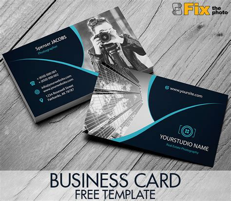 Photoshop Business Card Template Free Photoshop Business Card Templates Free Graphic Designs