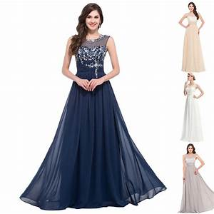 Beaded evening formal bridesmaid wedding dresses long maxi for Prom and wedding dresses