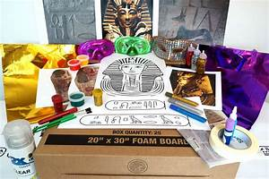 How To Make A Paper Sarcophagus For A School Project