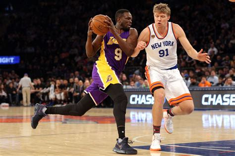 lakers news luol deng  hes determined  shut