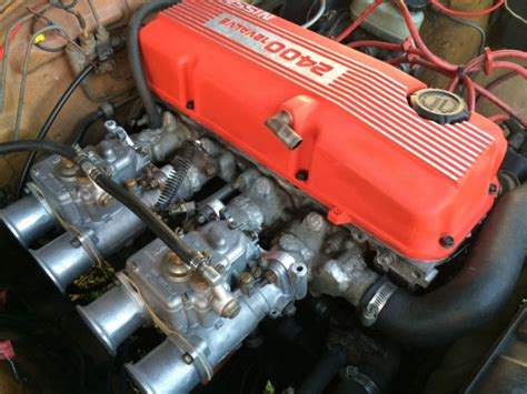 datsun   door coupe  nissan kae engine swap
