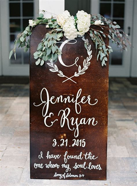 great wedding sign ideas  inspire  big day   day
