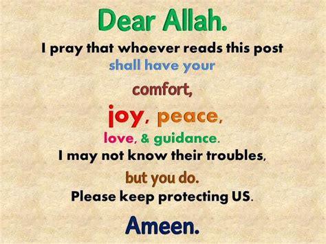 dear allahi pray   read  post  title