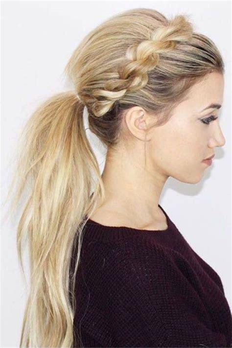 ways  wear  ponytail hair inspiration