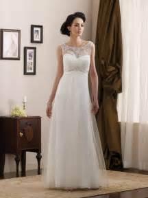 simple informal wedding dresses simple beaded lace satin length a line informal wedding dress prlog