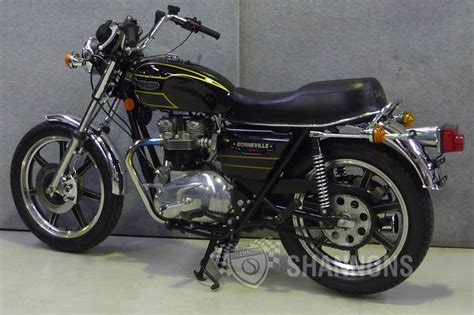 Triumph Bonneville 750 Special Motorcycle Auctions