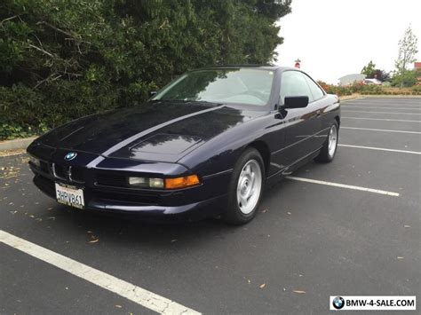 Bmw 8 Series For Sale by 1993 Bmw 8 Series 850ci For Sale In United States