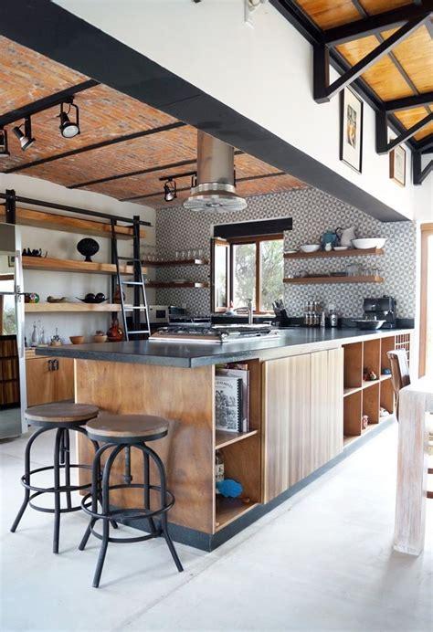 deco cuisine industriel cuisine style industriel bois