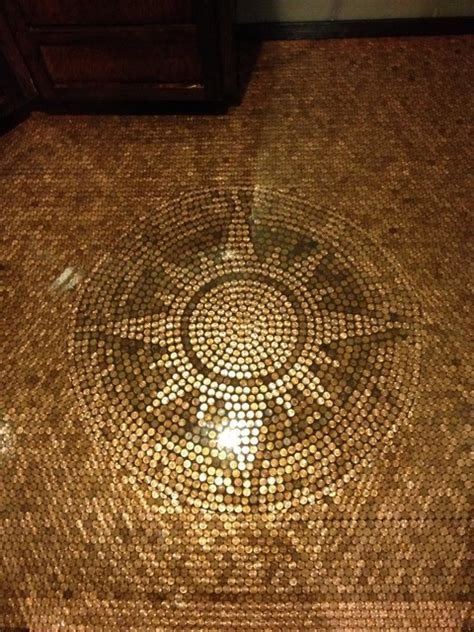 Penny Round Mosaic Tile by Penny Floor Contemporary Flooring Minneapolis By