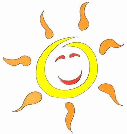 Summer Clip Sun Clipart Seasons Half Solstice