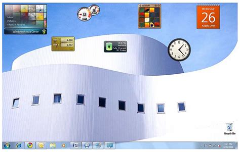 Windows 7 Gadgets No Sidebar Required  What Is A Gadget? Informit