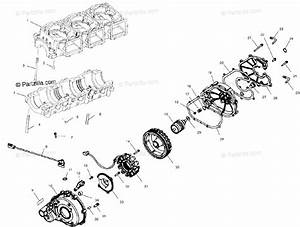 Polaris Watercraft 2002 Oem Parts Diagram For Crankcase   D