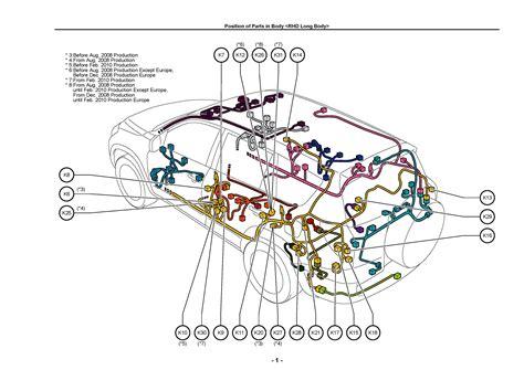 Europe North America Toyota Rav Electrical Wir