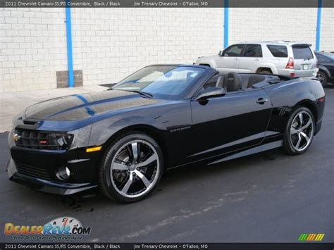 Black Convertible Camaro by Black 2011 Chevrolet Camaro Ss Rs Convertible Photo 2