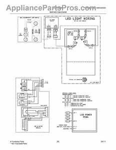 Parts For Frigidaire Lgub2642lp3  Wiring Diagram Parts