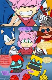 Sonamy Comics Sonic Boom Baby Aurora