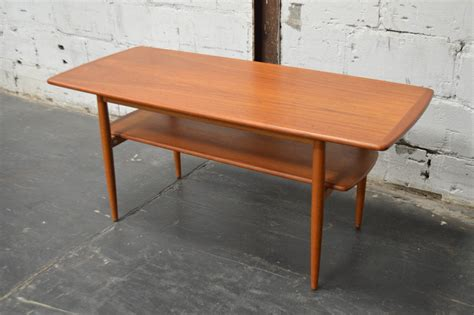 mid century modern coffee table for sale mid century modern swedish teak coffee table with shelf