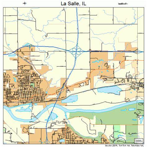 la salle illinois map 1742184