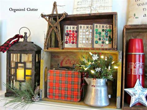 farmhouse friday repurposed christmas decor knick  time
